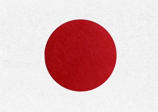 cardboard Japanese Flag of Japan
