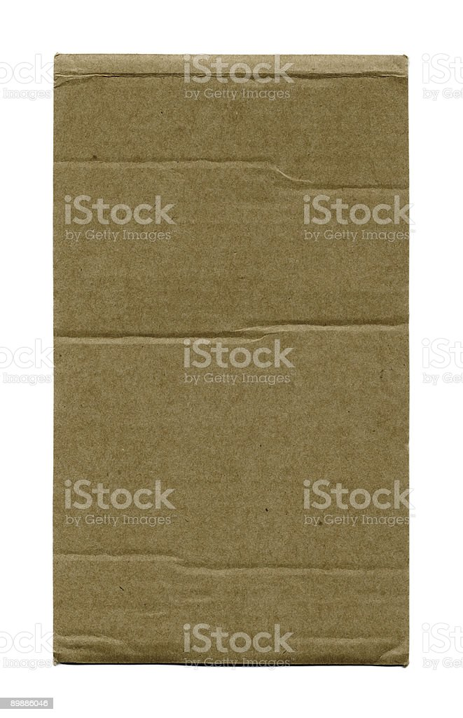 Cardboard Paper royalty-free stock photo