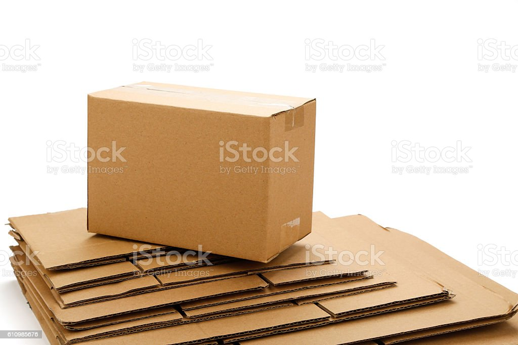 Carton stock photo