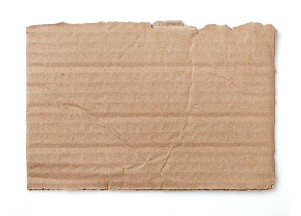 cardboard piece - kartonnen verpakking stockfoto's en -beelden