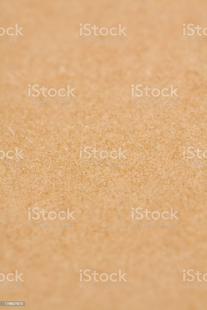 Cardboard sheet of paper royalty-free stock photo