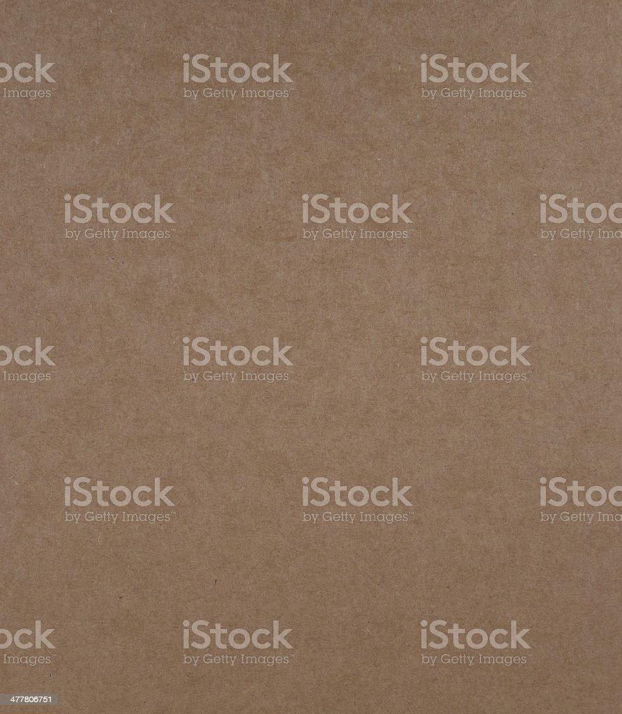 Cardboard sheet of paper stock photo