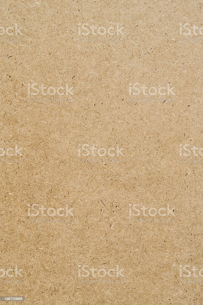 Cardboard sheet of paper stock photo