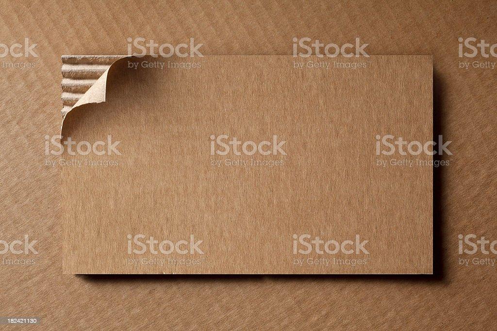 Cardboard sheet royalty-free stock photo