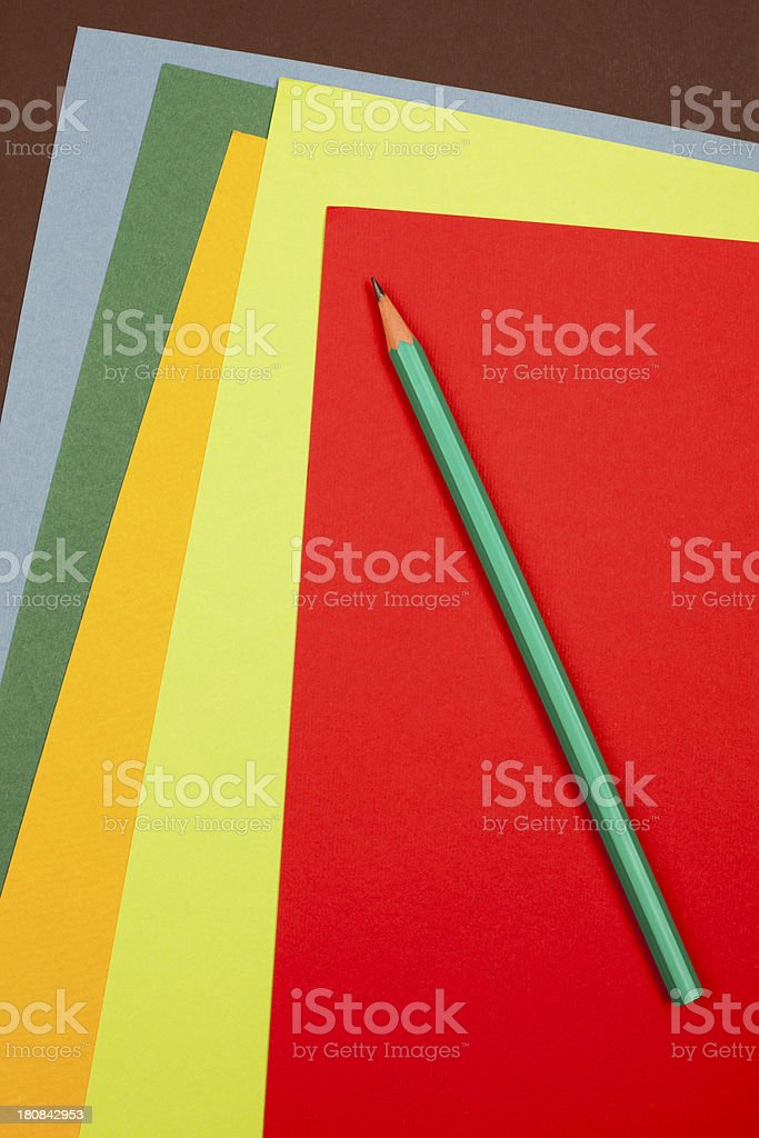 Cardboard sheets royalty-free stock photo