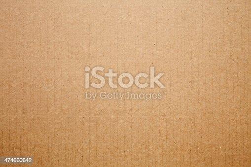 istock Cardboard texture background 474660642