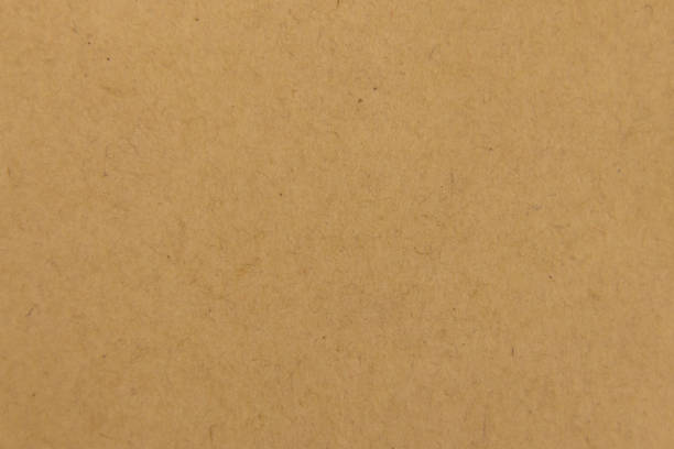 Seamless Kraft Paper Background Stock Photo Cardboard Texture For