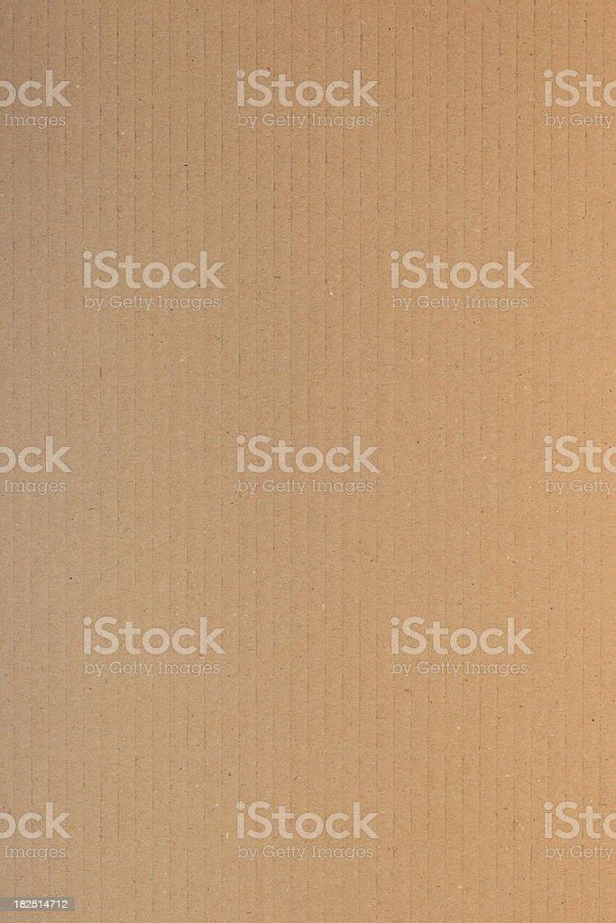 Cardboard Texture royalty-free stock photo
