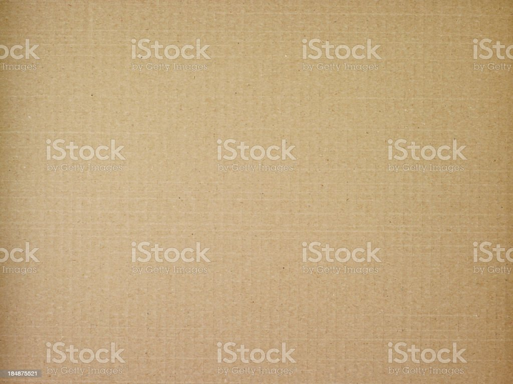 Cardboard texture - XXXLarge stock photo