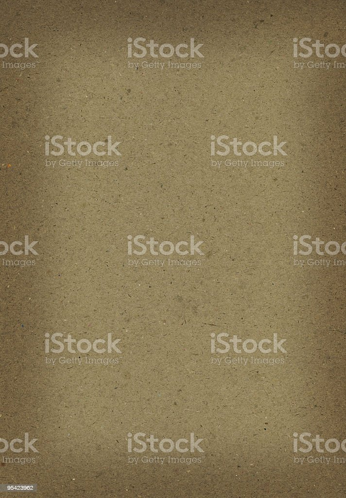 Cardboard with darker edges royalty-free stock photo