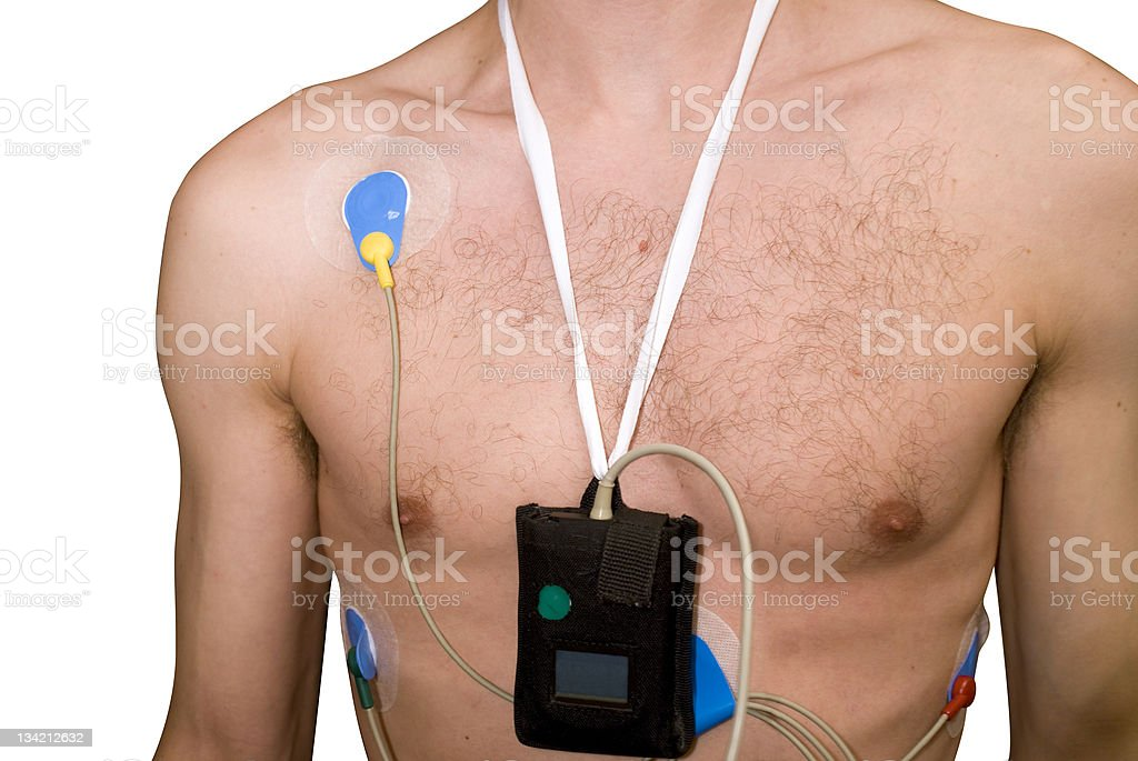 Cardiac Health - ECG royalty-free stock photo