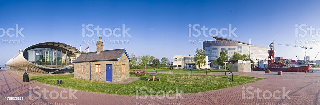 Cardiff Bay royalty-free stock photo