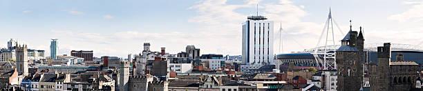 Cardiff stock photo