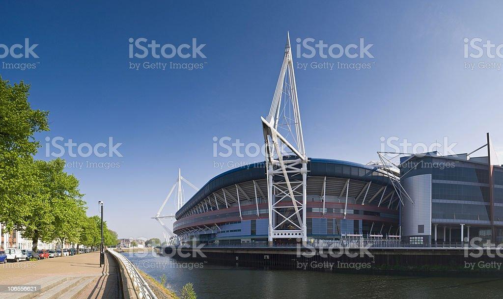 Cardiff Views royalty-free stock photo