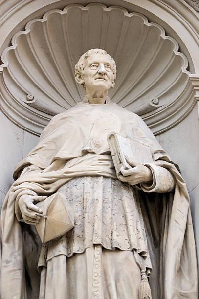 cardinal john henry newman statue - john lewis 個照片及圖片檔