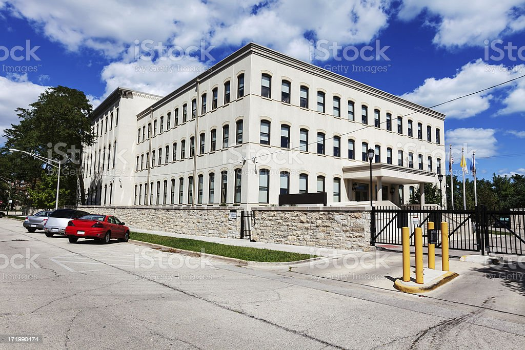 Cardinal Meyer Center, Chicago royalty-free stock photo