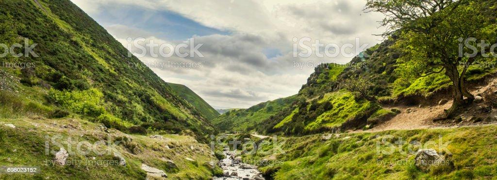 Carding Mill Valley,England, UK stock photo