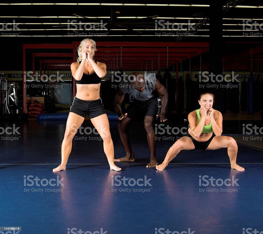 Cardio Workout royalty-free stock photo