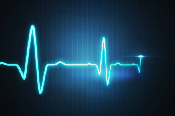EKG - cardiogram for monitoring heart beat. 3D rendered illustration. EKG - cardiogram for monitoring heart beat. 3D rendered illustration. pulse trace stock pictures, royalty-free photos & images