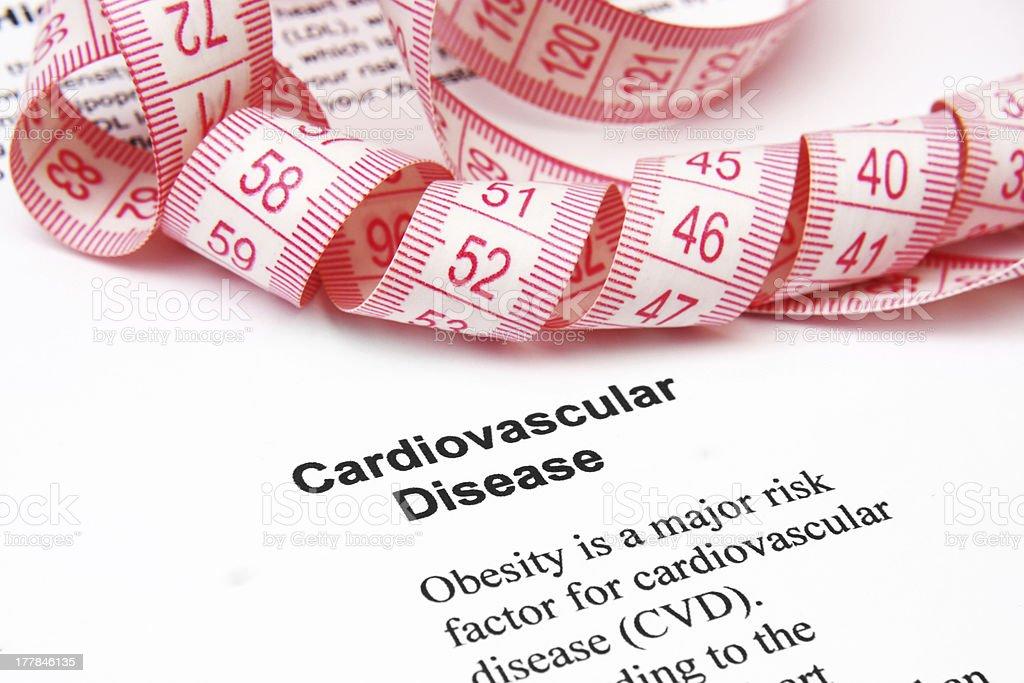 Cardiovascular disease royalty-free stock photo