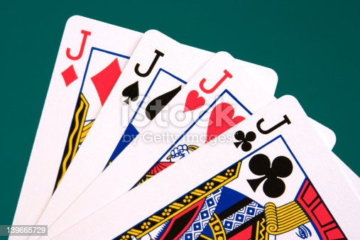 istock cards four cards 04 jacks 139665729