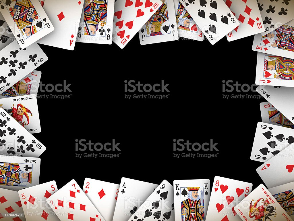 cards frame royalty-free stock photo