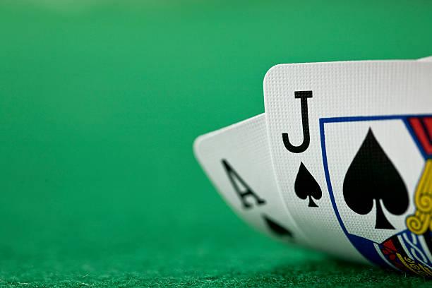 cards (xl) - black jack bildbanksfoton och bilder