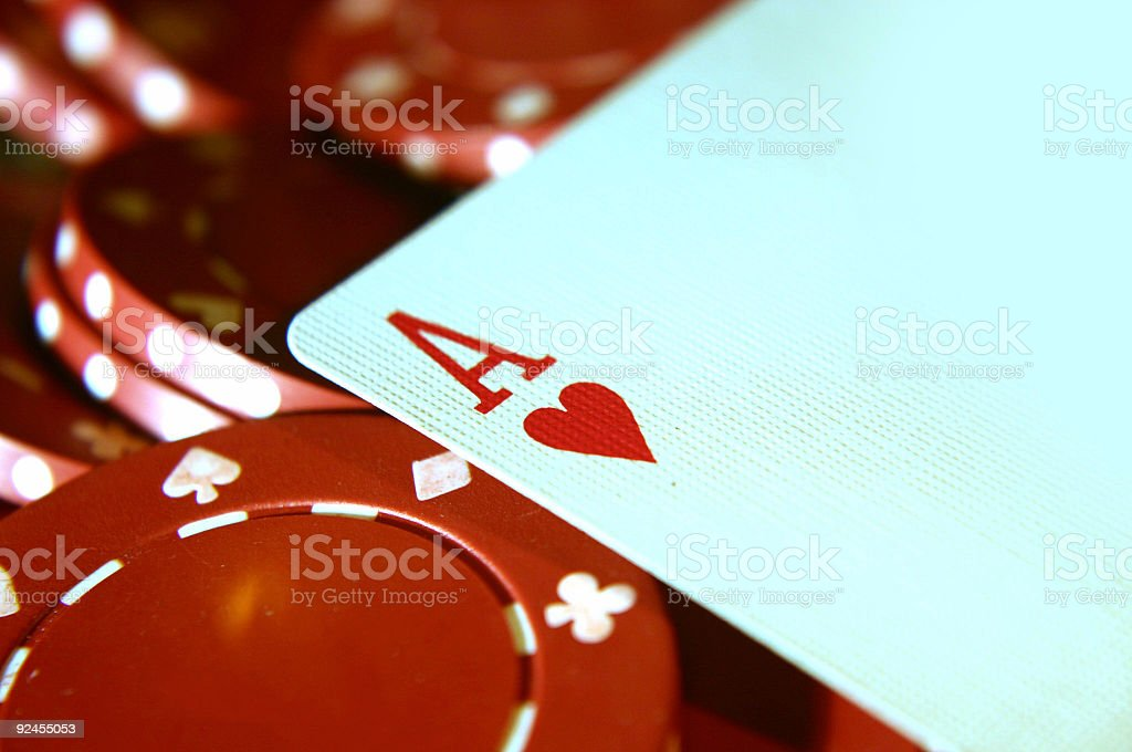 cards Two Aces 3 royalty-free stock photo