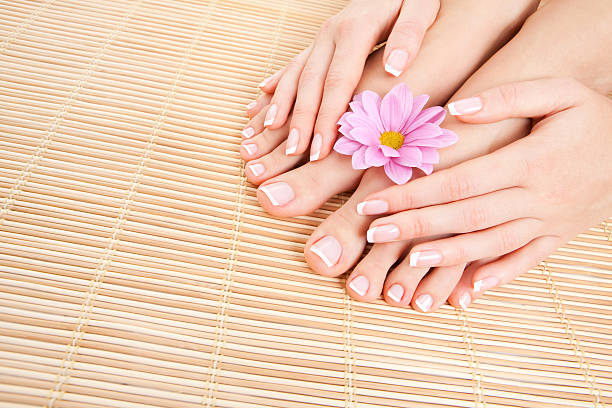 Pflege für schöne Frau Beine – Foto