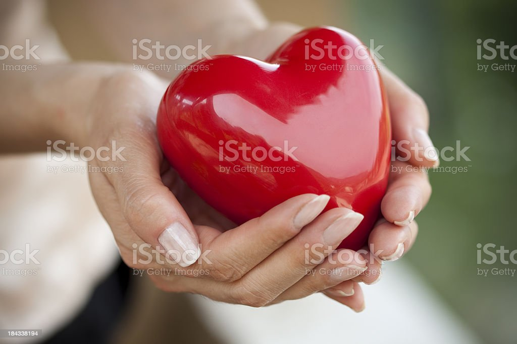 care for your heart royalty-free stock photo