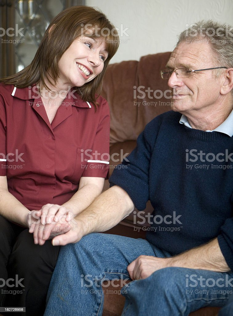 care in the community royalty-free stock photo