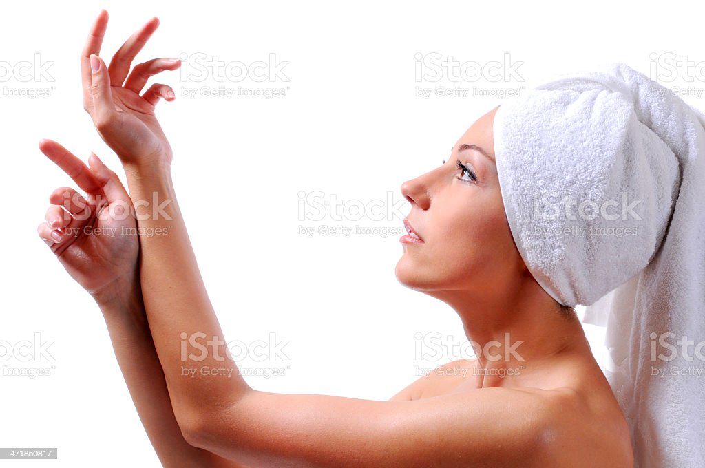 Care of body royalty-free stock photo