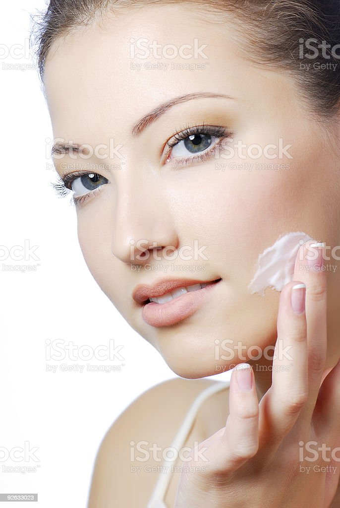 Care of skin royalty-free stock photo