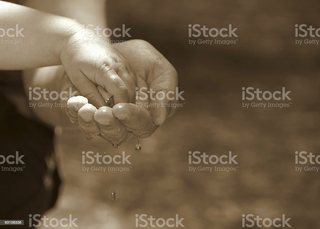 care royalty-free stock photo