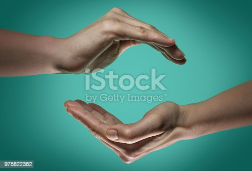 istock Care, protect, safety. 975822382