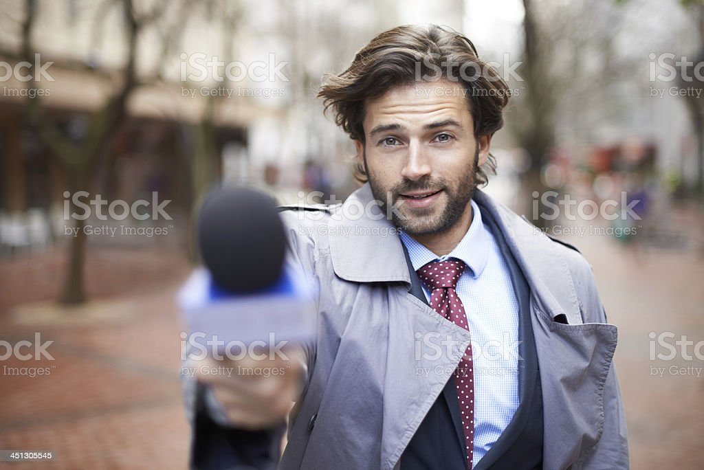 Care to comment? stock photo