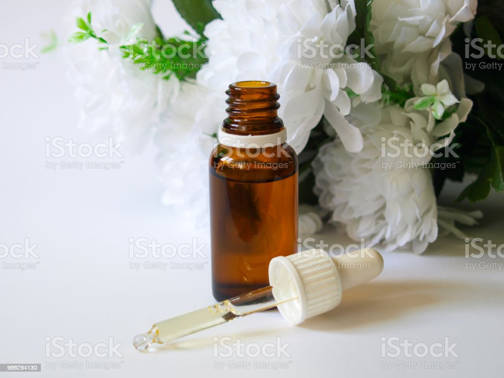 Care with Argan Oil. stock photo