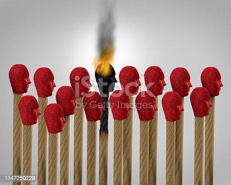 istock Career Burnout 1147250229