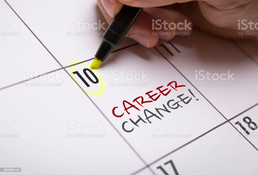 Career Change stock photo