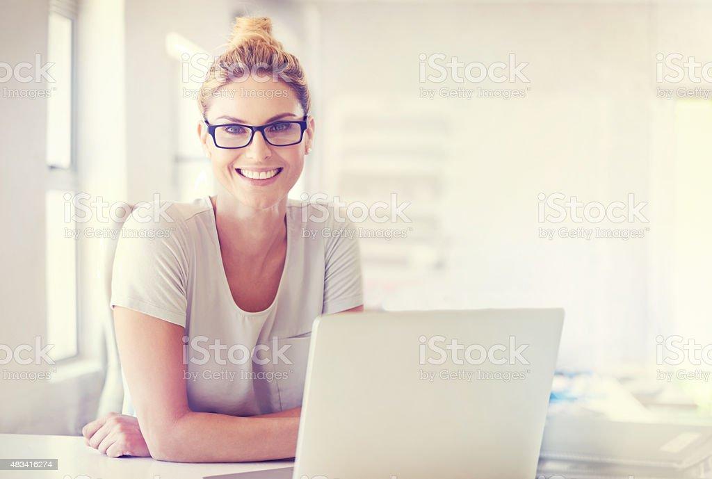Career confidence stock photo