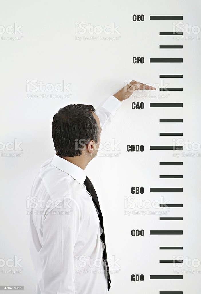 Career Goal royalty-free stock photo