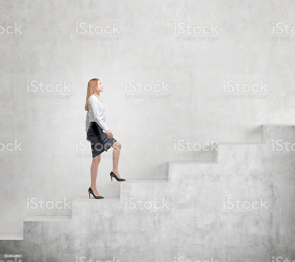 Career growth stock photo