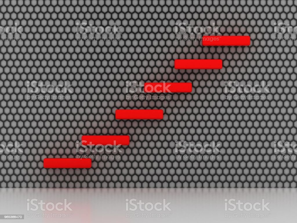 Career stairs royalty-free stock photo