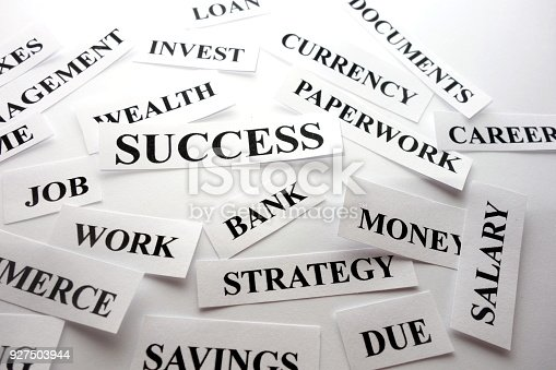 istock Career success concept 927503944