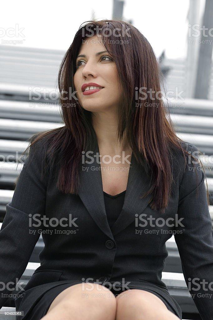 Career woman royalty-free stock photo
