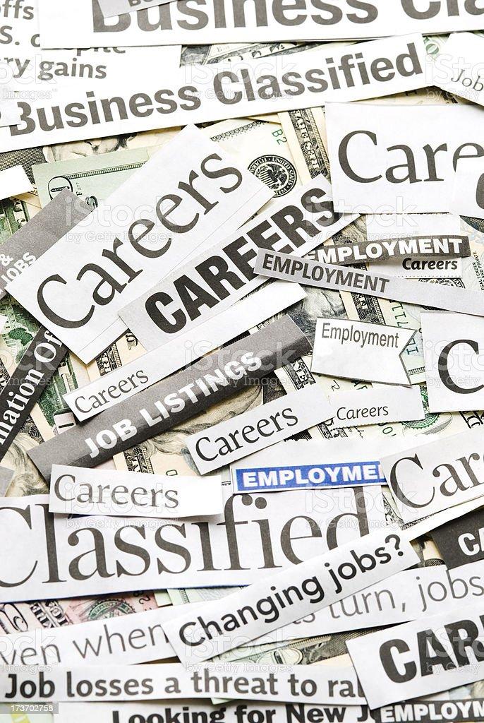 Careers (job search) - II royalty-free stock photo