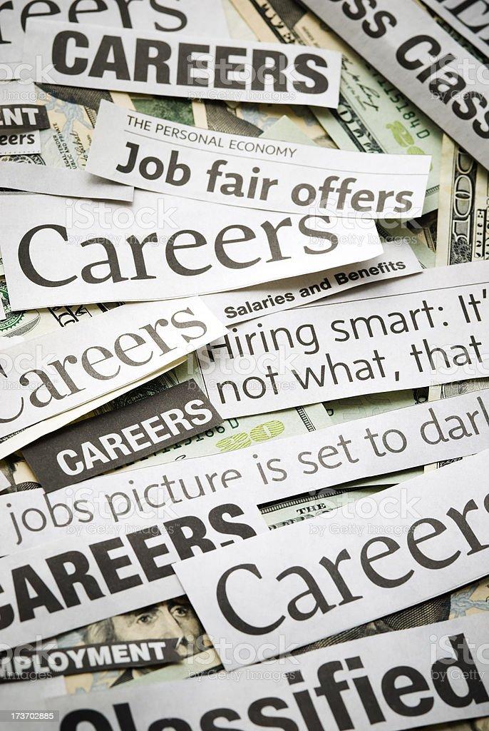 Careers (job search) - III royalty-free stock photo