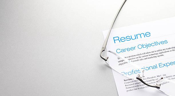 careers - curriculum vitae bildbanksfoton och bilder