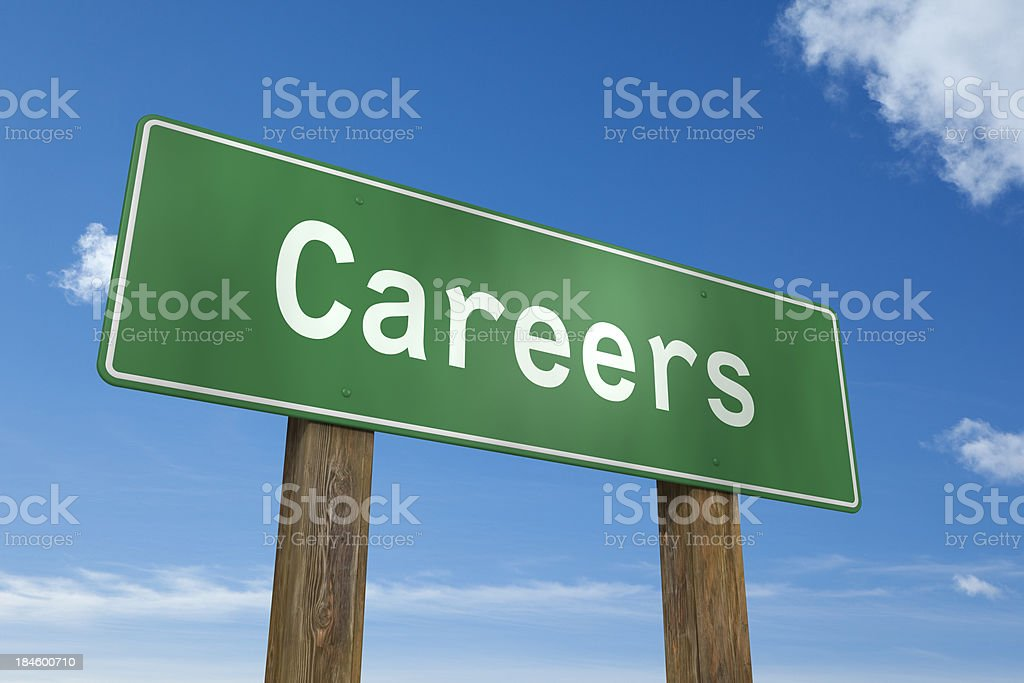 Careers royalty-free stock photo