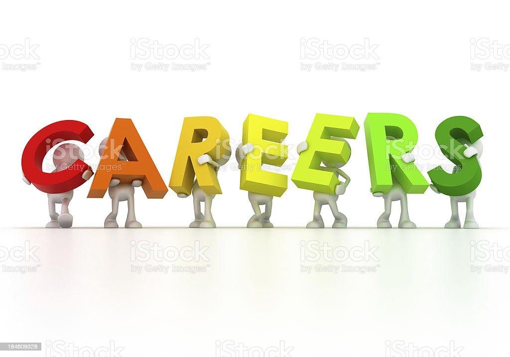 Careers royalty-free stock photo
